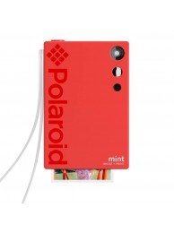 Camera Foto Instant si Imprimanta Polaroid Mint, cu Hartie Zink 2x3 inch, 16Mp, Rosu